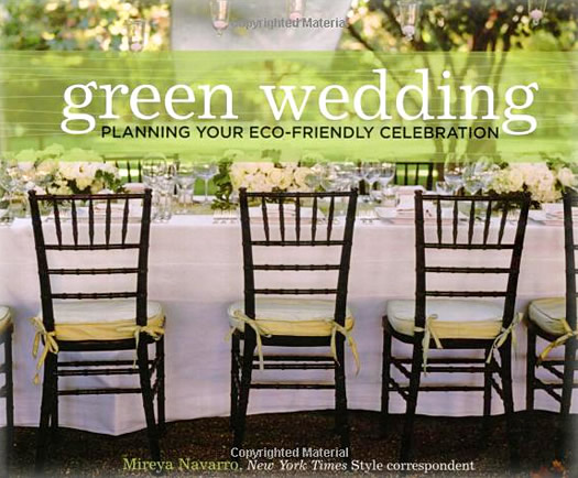 "Cover of ""Green Wedding"" book."