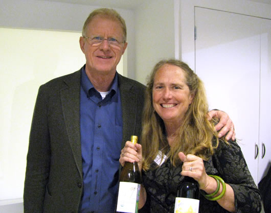 Katrina Frey with Ed Begley Jr.