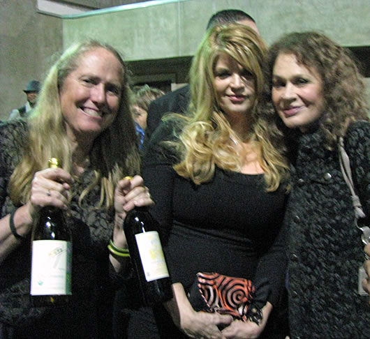 Katrina Frey with Kirstie Alley