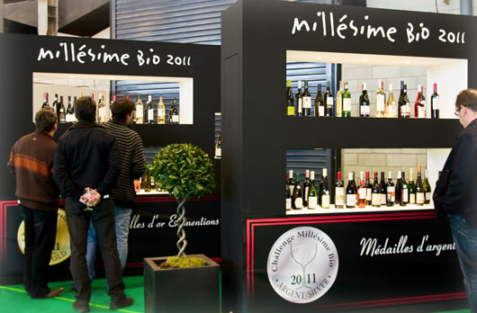 Attendees at Millésime Bio 2011
