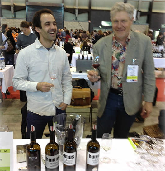 Meeting non-sulfited winemaker from Portugal.