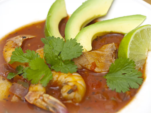 Spicy Baja Seafood Stew