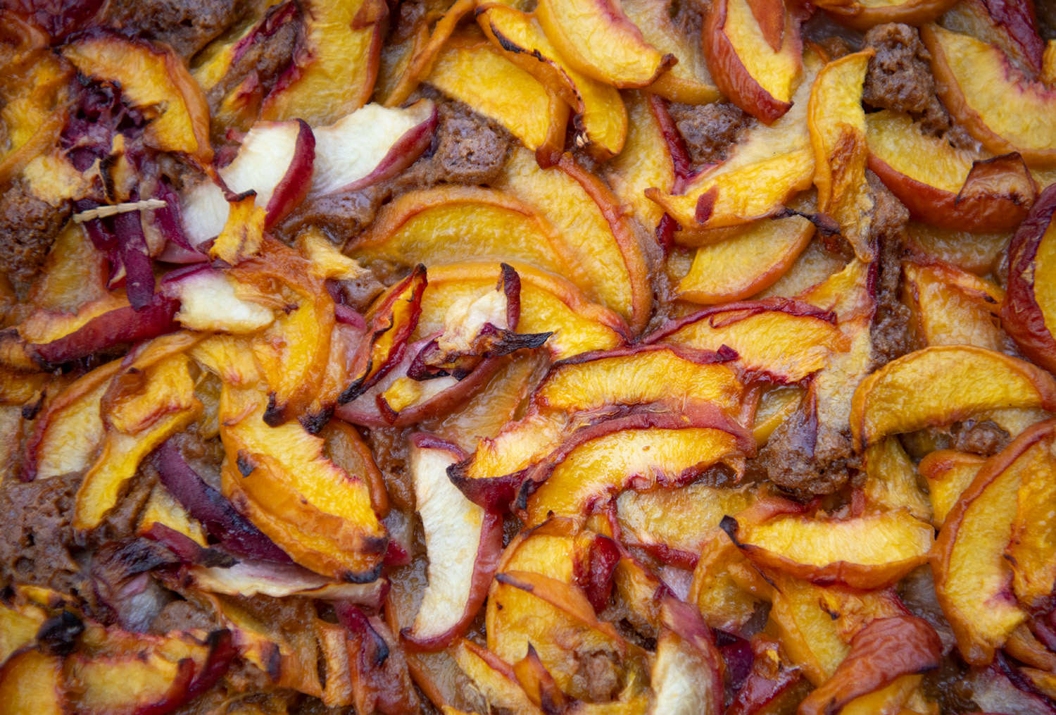 Peach Cobbler close-up